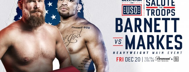 "Bellator wederom met ""Salute the Troops"" card naar Hawaii in December"