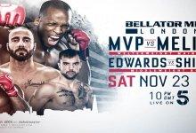 Uitslagen : Bellator London : MVP vs. Melillo
