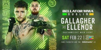 Tweede poging Gallagher vs. Ellenor tijdens Bellator Dublin in 2020