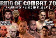 Uitslagen : Ring of Combat 70 : Pyfer vs. Pati