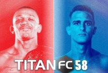 Uitslagen : Titan FC 58 : Rivera vs. Sabatello
