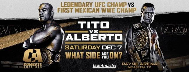 Uitslagen : Combate Americas 50 : Ortiz vs. Alberto