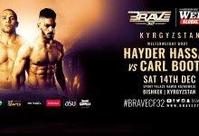 Uitslagen : Brave CF 32 : Hassan vs. Booth