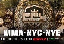 Uitslagen : PFL 2019 Championship Event