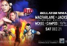 Uitslagen : Bellator 236 : Macfarlane vs. Jackson