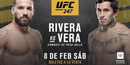 Jimmie Rivera vs. Marlon Vera toegevoegd aan UFC 247 in Houston