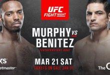 Ongeslagen Lerone Murphy treft Gabriel Benitez tijdens UFC Londen