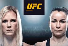 Rematch tussen Holly Holm en Raquel Pennington tijdens UFC 246 in Las Vegas