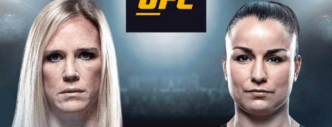 Rematch tussen Holly Holm en Raquel Pennington tijdens UFC 246 in Las Vegas