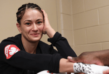 Karolina Kowalkiewicz treft Yan Xiaonan tijdens UFC Auckland
