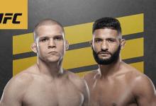 Alex Morono vecht voor eigen publiek tijdens UFC 247 in Houston tegen Dhiego Lima