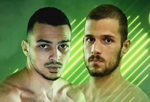 Ilias Bulaid vecht tweede MMA partij tijdens Bellator Dublin