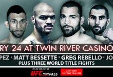Uitslagen : CES MMA 60 : Bessette vs. Cheeks III