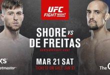 Ongeslagen Jack Shore treft Geraldo de Freitas tijdens UFC Londen