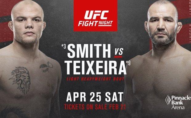 UFC kondigt evenement aan in Lincoln, Nebraska + vijf gevechten (incl. Main Event)