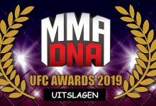MMA DNA UFC Awards 2019 : De Uitslagen!!!