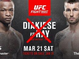 Marc Diakiese krijgt nieuwe tegenstander na uitvallen Stevie Ray voor UFC London