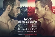 Damon Jackson vs. Mauro Chaulet is het Main Event van LFA 83 in Dallas