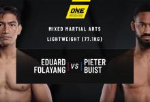 Pieter Buist wint met split decision van Eduard Folayang tijdens ONE Fire & Fury
