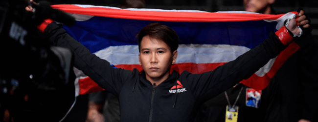 Lookboonmee vs. Goldy & Pitolo vs. Sato completeren UFC Auckland
