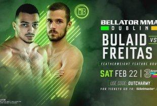 Ilias Bulaid wint ook tweede gevecht voor Bellator MMA