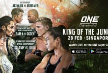 Uitslagen : ONE Championship 109 : King of the Jungle