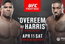 Alistair Overeem kruipt in rol underdog, Walt Harris is favoriet