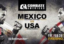 Uitslagen : Combate Americas 54 : Mexico vs. USA