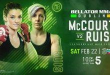 Uitslagen : Bellator 240/Dublin : McCourt vs. Ruis