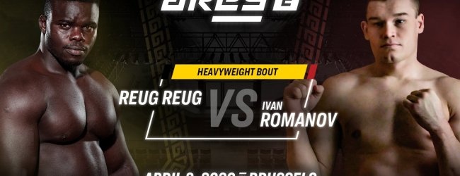 """Drie gevechten toegevoegd aan ARES FC 2 inclusief de terugkeer van """"Reug Reug"""""""