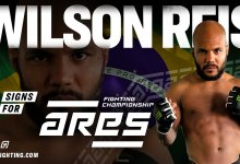 Wilson Reis tekent contract bij Ares Fighting Championship