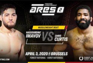 Nassourdine Imavov vs. Chris Curtis toegevoegd aan ARES FC 2 in Brussel