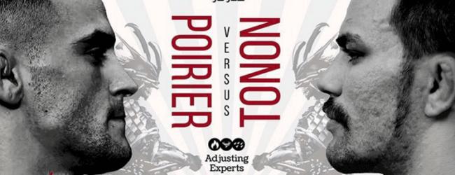 Grappling wedstrijd tussen Dustin Poirier en Garry Tonon voor het goede doel