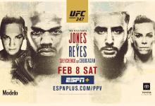 Uitslagen : UFC 247 : Jones vs. Reyes