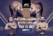 Uitslagen : UFC on ESPN+ 25 Rio Rancho : Anderson vs. Blachowicz 2