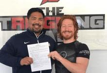 Spike Carlyle maakt debuut op short notice tegen Aalon Cruz tijdens UFC Norfolk