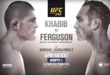 New York verbiedt UFC 249: Khabib vs. Ferguson