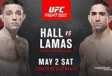 Ryan Hall vs Ricardo Lamas tijdens UFC Oklahoma City