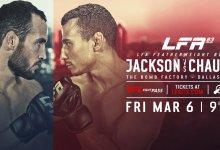 Uitslagen : LFA 83 : Jackson vs. Chaulet