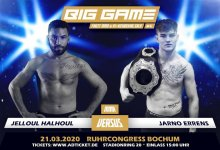 Coronavirus duwt Big Game MMA 4 naar 20 juni