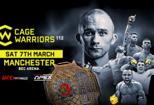Uitslagen : Cage Warriors 112 : Cartwright vs. Bilic