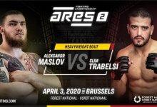 ARES FC voegt Aleksandr Maslov vs Slim Trabelsi toe aan ARES FC 2