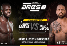 Gregory Babene vs Dallas Jakobi toegevoegd aan ARES FC 2
