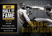 UFC Hall of Fame 2020 Fight Wing: Jones vs. Gustafsson 1