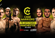 Uitslagen : Cage Warriors 113 : Stewart vs. Fabinski
