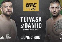 Tai Tuivasa keert terug tijdens UFC 251 in Perth tegen Jarjis Danho