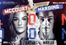 Leah McCourt vs. Janay Harding toegevoegd aan Bellator Londen