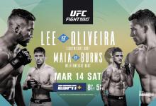 Uitslagen : UFC on ESPN+ 28 Brasilia : Lee vs. Oliveira