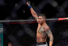Carlos Diego Ferreira treft Drew Dober tijdens UFC Oklahoma City