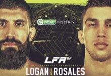 Bryce Logan en Jacob Rosales vechten voor de vacante Lightweight titel tijdens LFA 86